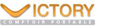 Logo caisse comptoir Victory