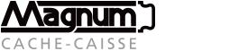 Logo cache-caisse Magnum