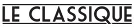 Logo support à bannière Classique