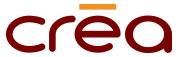 Logo stand kiosque Créa