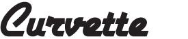 Logo porte-affiche Curvette