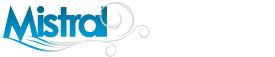 Logo bannière oriflamme Mistral