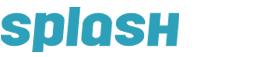 Logo support à bannière extérieur Splash