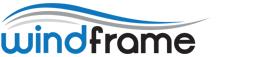 Logo Porte-affiche extérieur Windframe