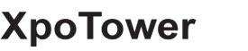 Logo colonne publicitaire XpoTower