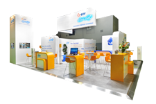 stand d'exposition Panoramic