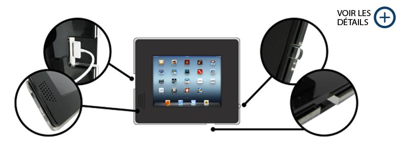 Specs Support multimédia iPad